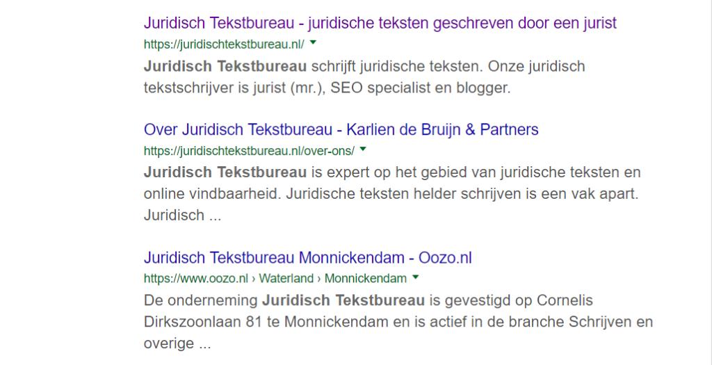 Juridisch Tekstbureau